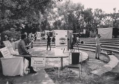 Photo by @pictorial_diary My first time at the #delhiphotofestival was checking out the Vintage Photography workshop by Aditya Arya.  #dpf2015 by delhiphotofestival