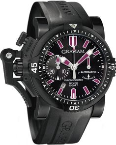 Graham Chronofighter Oversize Diver Deep Purple