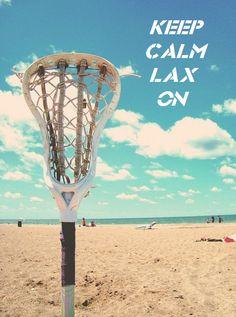 Keep Calm Lax on  #lax #lacrosse #totallacrosse