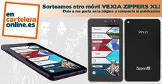 #SORTEO #CONCURSO Participa en el concurso de un móvil Vexia Zippers XL {URL}  encarteleraonline.es