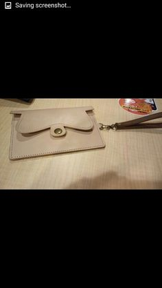 Project 1# veg tan's key wallet made from cattle's leather #sampleonly