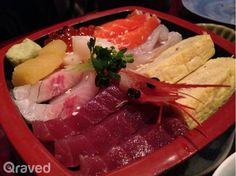 Chirashi at at Sumire Japanese Restaurant