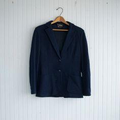SALE / Classic Navy Blazer - S