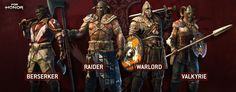 Ubisoft Details For Honor's Classes And Multiplayer Modes Xbox One, For Honor Viking, Best Hero, High Priest, Armor Of God, Art Programs, Barbarian, Fantasy Characters, Vikings