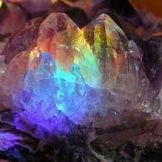 Gorgeous Rainbow crystal