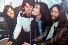 .Richard Starkey, Paul McCartney, George Harrison, and John Lennon
