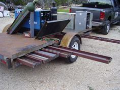 I need welding rig setup advice! Welding Beds, Welding Cart, Welding Shop, Welding Tools, Metal Welding, Welding Projects, Welding Trailer, Welding Trucks, Work Trailer