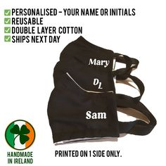 Don't forget to let me know, what you would like printed on your mask Layers, Forget, Let It Be, Printed, Face, Cotton, Handmade, Layering, Hand Made