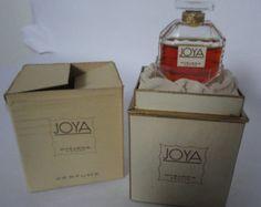 Myrurgia JOYA 35 oz Flacon Colonia 1950 por ParfumsDeParis en Etsy