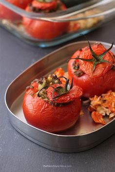 Tomates Farcies by The French Lunchbox