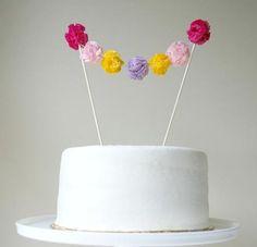 fiesta infantil toppers tarta cumpleaños1 10 Toppers para decorar una tarta de cumpleaños