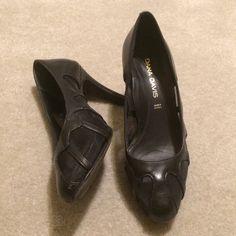 Dana Davis Black Mesh Cage Heels Dana Davis Black Mesh Cage Heels. Gently lived & worn but so much life left. NO TRADES NO HOLDS LOWBALL OFFERS WILL BE IGNORED Dana Davis Shoes Heels