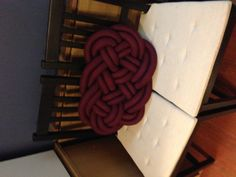 Another Celtic knot pillow