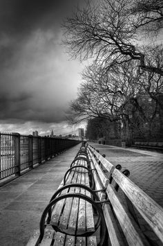 Brooklyn Heights Promenade - used to walk here regularly - peaceful and lovely, TC
