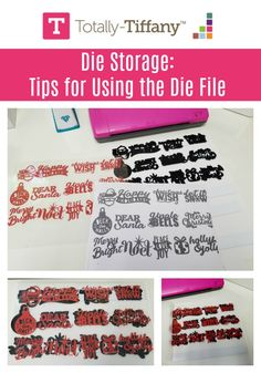 Die Storage tips for using the Totally-Tiffany Die File. You've invested big money in your die collection, organize with the Die File and use your dies Craft Room Design, Love Holidays, Big Money, Craft Organization, Peace And Love, Home Crafts, Maid, Craft Supplies, Crafting