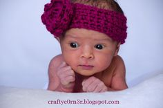 Everyday Shopaholic: Crochet Baby Flower Headband