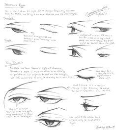 yana toboso Sketches   Sebastian's Eyes - My and Yana Toboso's Style by CrossAcademy22