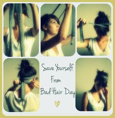 Quick Steps to save yourself from a Bad Hair Day :) <3 #Hairstyles #DIY #Beauty
