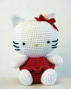 Crochet hello kitty 2011