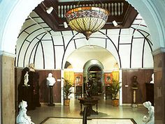 The Lightner Museum is located in historic downtown St. Augustine, Florida.