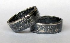 Silver State Coin Rings Patina Finish by TCSCustoms on DeviantArt