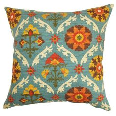 The Pillow Collection Carmelo Floral Pillow Floral Bedding, Floral Throw Pillows, Bohemian Pillows, Toss Pillows, Accent Pillows, Decorative Pillows, Pillow Set, Throw Pillow Covers, Pillow Talk