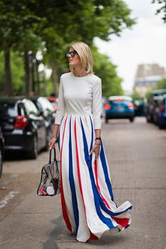 How to Wear Red, White, and Blue for Memorial Day - Festive Style, Holiday Weekend, Shopping