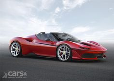 The Ferrari J50 is a limited run of just ten cars – based on the 488 Spider – with a targa body which evokes Ferrari cars from the 1970s and 1980s.