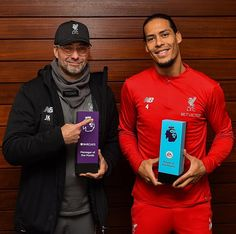 Liverpool has dominated the Premier League awards for December as its German coach Jurgen Klopp earned the Manager of the Month award while the English side's Dutch defender Virgil van Dijk claimed the Player of the Month trophy. Liverpool Football Team, Liverpool Premier League, Liverpool Players, Fc Liverpool, Premier League Champions, Football Fans, Hillsborough Disaster, Juergen Klopp, This Is Anfield
