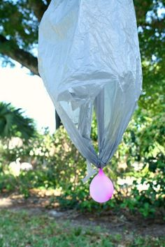 Water Balloon Parachute Outdoor Activity for Kids