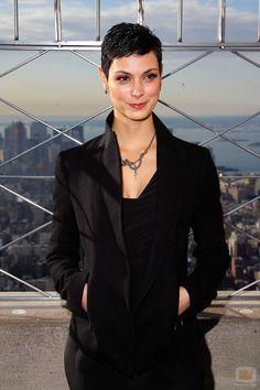 Morena Baccarin, de V, en el ESB de Nueva York