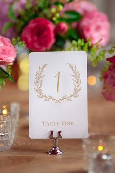 Sweet Vintage Wedding Table Number Signs 120  by SixpencePress, $25.00