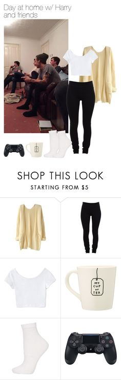 """Day at home w/ Harry and friends"" by leftsouls ❤ liked on Polyvore featuring Helmut Lang, Love 21 and Topshop"