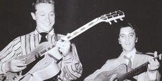 Old Man: Scotty Moore und Elvis Presley