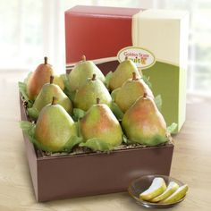 BESTSELLER! Imperial Comice Pears Deluxe Fruit Gift $24.95                                                                                                                                                                                 More