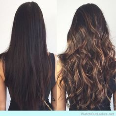 How to go from dark brunette to light brown with balayage highlights!! Check out now!!