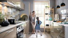 New Beige Gloss Kitchen Set TAPO PLUS   Modern Complete Kitchen 11 units LED