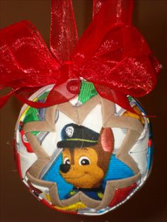 Paw Patrol Handmade ornament  only $8.50