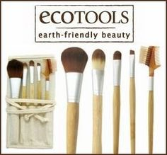 Ecotools Makeup brushes - I love them, they're sooo soft and gentle, I won't use any other makeup brushes