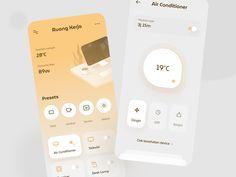 Smarthome App Exploration Motion App, Mobile Ui, Ui Inspiration, Smart Home, Ipad Tablet, Nintendo Wii Controller, Mobile Design, Messages, Ui Ux