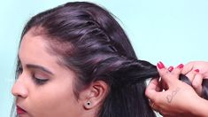 New Easy juda hairstyle with gajra / simple hairstyle / cute hairstyle /... Bun Hairstyles For Long Hair, Trending Hairstyles, Latest Hairstyles, Cute Hairstyles, New Hair, Long Hair Styles, Simple, Girls, Youtube
