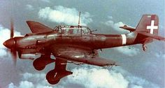 Rare Italian Stuka Junkers 87