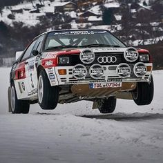 Rally Car, Car Car, Bmw Classic Cars, Vintage Sports Cars, Audi Sport, Ford Escort, Audi Cars, Car And Driver, Audi Quattro