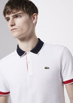 Polo Lacoste Live ultraslim fit à liserés I have one  and I enjoy wearing it.