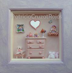 Espacio Niña con miniaturas