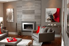 Living Room Design Ideas - Discover home design ideas, furniture, browse photos and plan projects at HG Design Ideas - connecting homeowners with the latest trends in home design & remodeling Interior Design Living Room, Living Room Designs, Living Rooms, Small Space Living, Small Spaces, Cozy Living, Living Room Inspiration, Tile Design, Modern Design