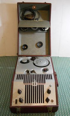 Vintage WEBSTER CHICAGO Electronic Memory Wire Recorder Model 180-1 / RMA 375 #WEBSTER