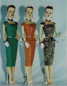 Joshard OOAK make over vintage fashion queen Barbie dolls early 60's look AFKA Joshard Jeff Bouchard