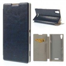 Capa Livro Sony Xperia T3 Faith Stand Azul 7,99 €