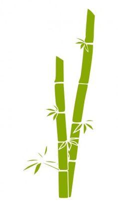 bamboo Bamboo Grass, Bamboo Art, Copic, Bamboo Drawing, Bamboo Tattoo, Bamboo Design, Stencil Designs, Stencil Diy, Button Crafts